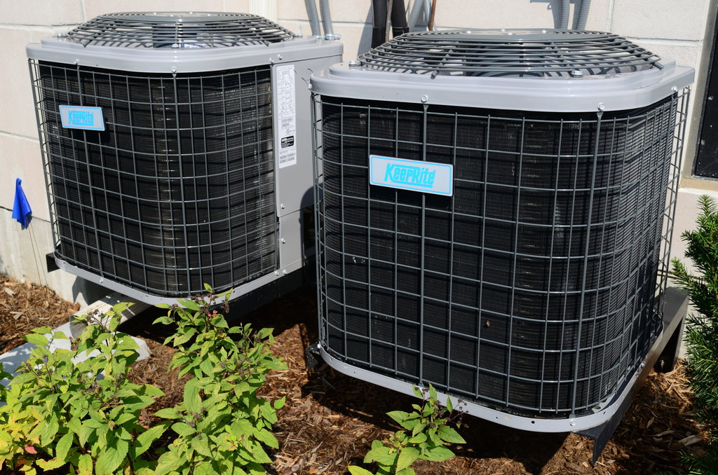 what is a split type HVAC